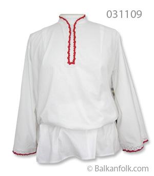 Къса женска шопска риза за литак